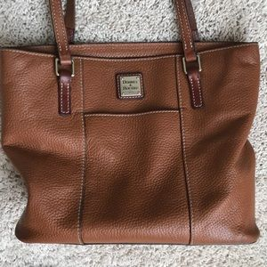 Dooney & Bourke brown leather purse